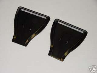 JDM Universal ABS Plastic Hood Scoop Scoops Side Air Vent Vents #45