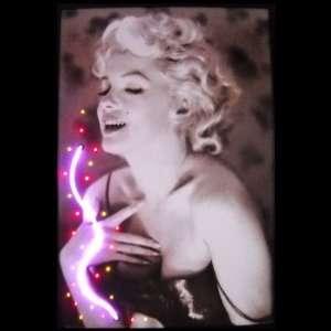 Neonetics Marilyn Monroe Perfume Neon Poster Sign Marilyn Monroe with