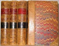 LEATHER Set; EDGAR ALLAN POEs Works 1871. COMPLETE