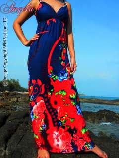 Evening Summer Women Long Maxi Dress Size Sz M XXXL Plus 8 24 AU