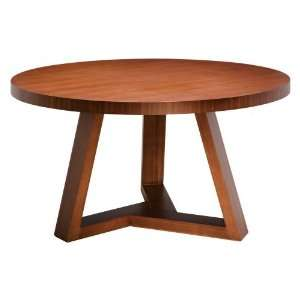 Cyrus (Small) Modern Wood Circle Dining Table