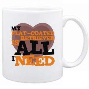 New  My Flat Coated Retriever Is All I Need  Mug Dog