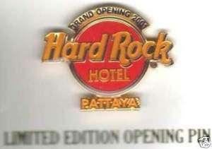 Hard Rock HOTEL PATTAYA   GRAND OPENING LOGO PIN