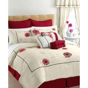 Vida by Eva Mendes Penelope 4 Piece King Comforter Set