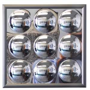 21 x 21 Acrylic Lunar Panel Decorative Wall Mirror with