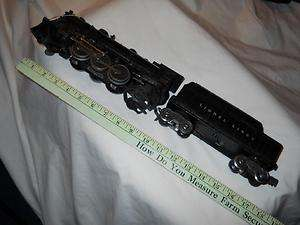 Gauge Lionel 1666 Locomotive & 2466WX Tender, 1946