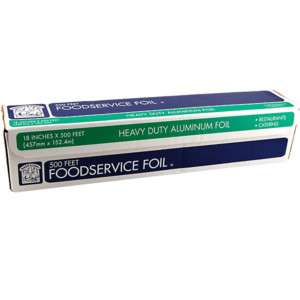Foodservice Heavy Duty Aluminum Foil – Roll of 500 Ft 78742102856