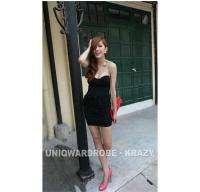206 Sexy Retro Women Lace V Neck ClubWear Party Dress