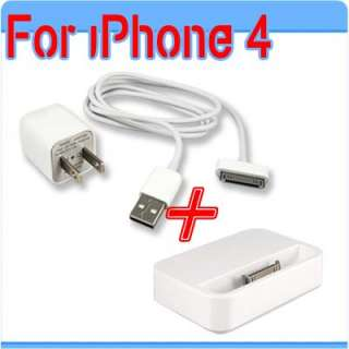 Black USB Sync Data Charging Charger Cable Cord for Apple iPhone 4 4S