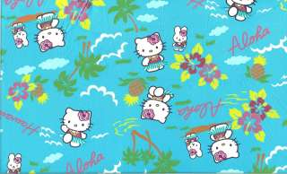 RARE HELLO KITTY ALOHA FQ