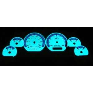 1999 2003 Ford Mustang GT Glow Gauges Kit Automotive
