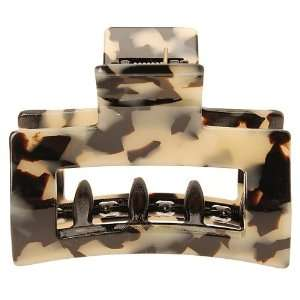 France Luxe Cutout Rectangle Jaw Clip Beauty