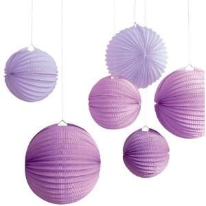 Martha Stewart Crafts Accordion Lantern, Purple Arts