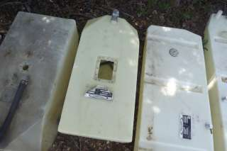 Plastic Boat Gas Fuel Cell Tank 25 Gallon Tank w/ Gage Sending Unit