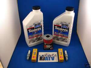Honda TRX450ES/S Foreman Oil Filter Spark Plug Tune Up