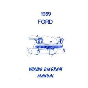 1959 FORD Full Line Wiring Diagrams Schematics Automotive