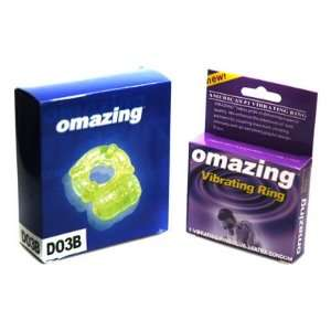 Omazing Glow In The Dark Deluxe Reusable Vibrating Ring