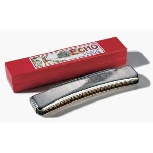 Hohner 1496 Echo 48 Octave Harmonica Musical Instruments
