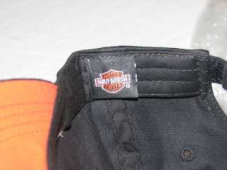 HARLEY DAVIDSON LIL RIDER EMBROIDERED YOUTH HAT CAP BLACK NEW