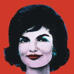 Red Jackie by Andy Warhol, 3x3