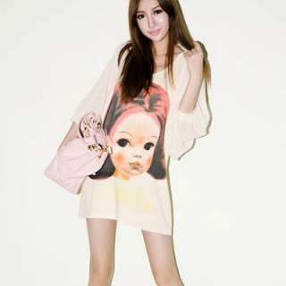 New Korean Cute Women Girl High Quality Long Sleeves T Shirt Multiple