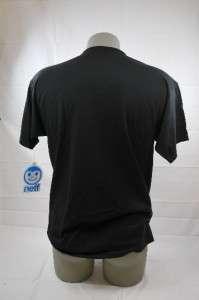 NEFF CLOTHING MENS BLACK T SHIRT W/ YELLOW BULL FACE GRAPHIC LOGO