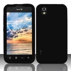 fr LG Marquee Ignite Black Skin Sleeve Silicone Gel Phone Case+Guard