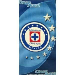Official Cruz Azul Beach Towel: Sports & Outdoors