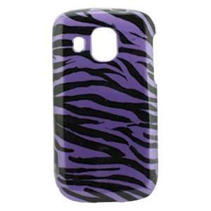 Icella FS SAM930 DZ01 Purple   Black Zebra Snap On Cover