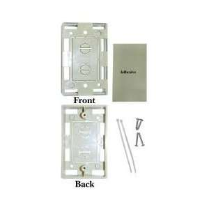 Single Gang Surface Mount Box, Ivory. Network / Phone Product, Network
