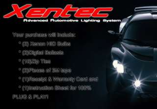 H1 6000k Diamond White XENON HID CONVERSION KIT
