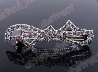 Czech rhinestone Tiara hair pin wholesale16pcs