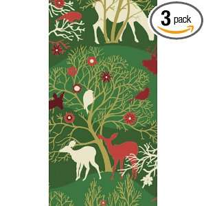 Ideal Home Range Paper Guest Towels, Enchanted Forest Pattern, 20 Pack