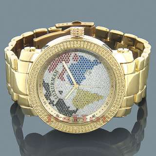 Ladies Diamond Watch 0.30 ct Iced Out Women Watches White MOP
