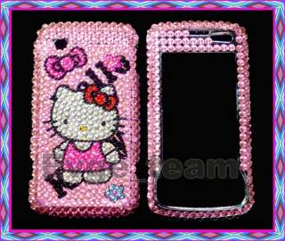 Hello kitty Bling Case Cover LG Chocolate Touch 8575 BD