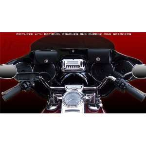 HDF 5566 Batwing Fairing With Stereo Receiver For Harley Davidson FLHR