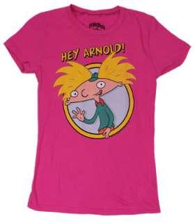 Hey Arnold Sheer Junior Womens T shirt