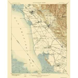 USGS TOPO MAP HAYWARDS QUAD CALIFORNIA (CA) 1899 Home
