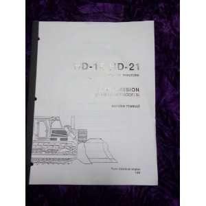 Fiat Allis HD16/HD21 Transmission OEM Service Manual Fiat Allis