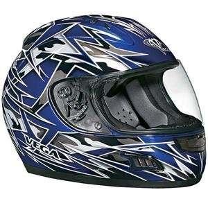 Vega Altura Havoc Helmet   Medium/Blue Automotive