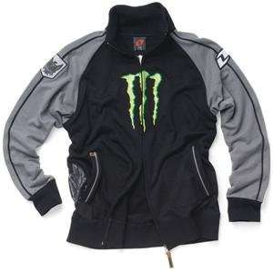 One Industries Monster Track Jacket   X Large/Black/Grey