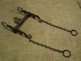 Vintage Iron Horse Harness Bit > Antique Bridles Old