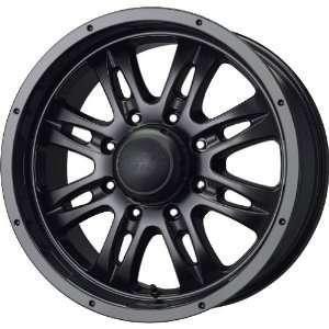 MB Wheels Gunner 8 Matte Black Wheel (18x8.5/8x170mm