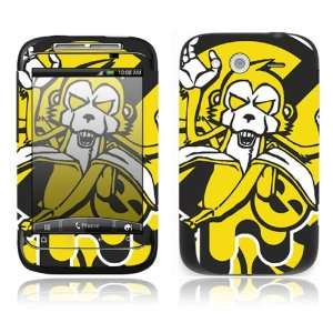 Monkey Banana Decorative Skin Cover Decal Sticker for HTC