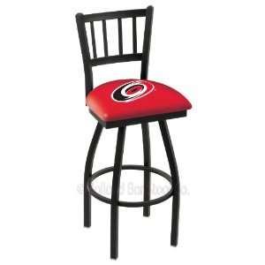 Carolina Hurricanes NHL Hockey L018BW Bar Stool  Sports