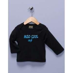 Miso Cool Black Long Sleeve Shirt Baby