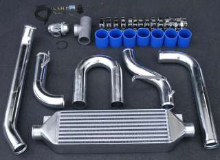 88 91 Honda Civic Turbo FMIC Intercooler+Piping+BOV+MBC