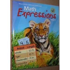 Mifflin Math Expressions (Math Expressions 2009   2012) (9780547060705