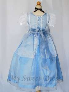 Girl Cinderella Princess Costume Dress Size 6   Pageant Birthday Party