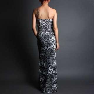 Strapless Party Evening Gown Cocktail Long Maxi Dress sz S/M/L